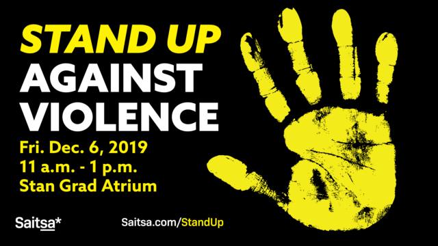 Stand Up Against Violence