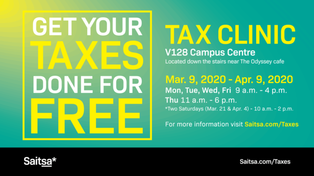 Canceled – Tax Clinic