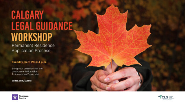 Calgary Legal Guidance Workshop